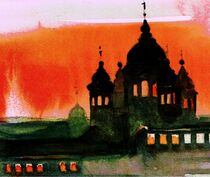 Roter Himmel von Olga David