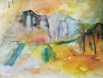 Berge im Licht von Johanna Löffler