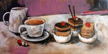 Kaffee mit Gebäck von Olga David