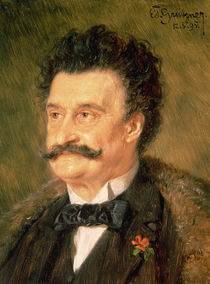 Johann Strauss the Younger by Eduard Grutzner