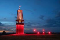 Landmarke auf der Halde Rheinpreussen, Moers, Metropole Ruhr, Deutschland by alfotokunst
