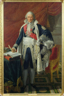 Count Jean-Etienne-Marie Portalis  by Pierre Gautherot