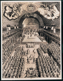 The Estates General at the Theatre Bourbon by Picquet