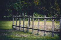 Wooden paddock fence von Ingo Menhard