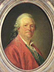 Portrait of Christoph Willibald von Gluck  by Etienne Aubry