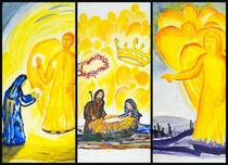 Weihnachts-Triptychon von Jutta Blühberger