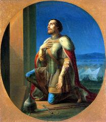 Alexander Nevsky  von Petr Mikhailovich Shamshin
