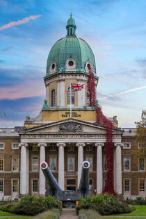 Imperial War Museum Weeping Window Poppies by Milton Cogheil