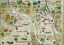 Arabia and India von Pedro Reinel