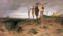 The Damned Field von Fedor Andreevich Bronnikov