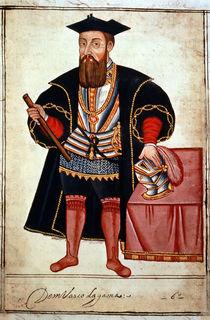 Sloane 197 f.18 Vasco da Gama  by Pedro Barretto de Resende