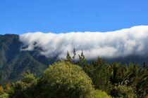 Wolkenfall Cumbre Nueva - La Palma von Udo Beck