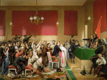 A Wedding under the Commune of Paris of 1871  by Paul-Felix Guerie