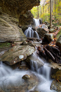 Emory Gap Falls 18 by Phil Perkins