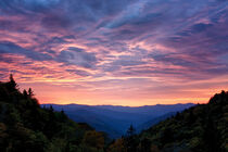Sunrise At Luftee Overlook 2 by Phil Perkins