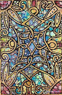 Postcard From a Complicated World by Julie Ann Stricklin von Julie Ann  Stricklin