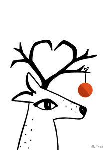 Rentier / Reindeer - 2020 von Sara Sameith
