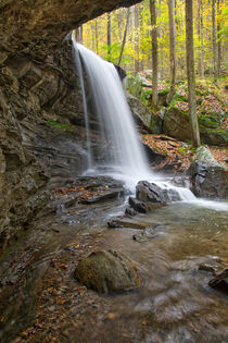 Emory Gap Falls 23 by Phil Perkins