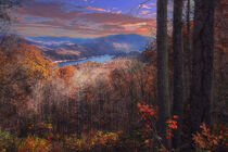 Fontana Lake - North Carolina by William Schmid