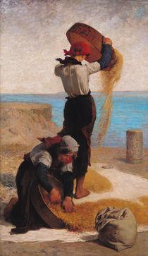 The Winnowers von Francois Nicolas Augustin Feyen-Perrin