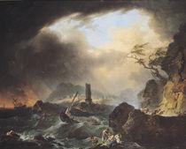 The Storm  von Francois Valentin Gazard