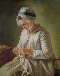 The Seamstress or by Francoise Duparc