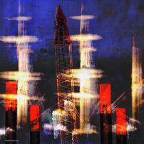 Hafenimpression_kreativ_1a / Harbor impression creative_1a von Manfred Rautenberg