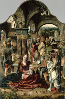 The Adoration of the Magi  by Nicolaus van Aelst