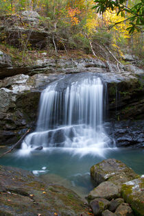 Paine Creek Waterfall 21 by Phil Perkins