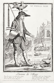 The Village Peasant by Nicolas Guerard