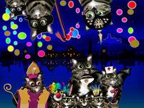 Lahnsteiner Stadtkatzen Katzenmusik Chor von Pia Nachtsheim