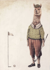Alpaca Golf Club by Mike Koubou