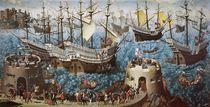 Embarkation of Henry VIII  von Friedrich Bouterwek