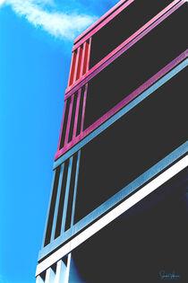 'Abstrakt Architektur FFM ' by Sandra  Vollmann