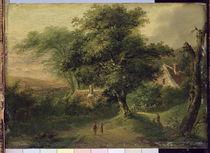 Landscape by Friedrich Rosenberg