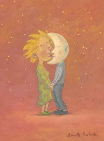 Mondkuss von Annette Swoboda