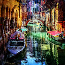 Venice Italy Canal by Phil Perkins