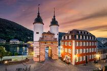 Sunrise in Heidelberg von Michael Abid