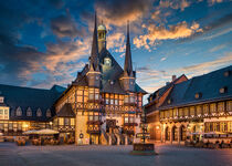 City Hall of Wernigerode by Michael Abid