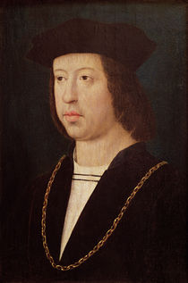 Portrait of Ferdinand II  von Master of the Legend of St. Madeleine