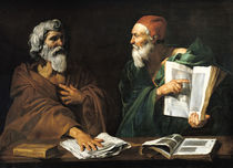 The Philosophers  by Master of the Judgment of Solomon