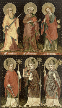 Six Saints  by Master of the Holy Barefoot Altarpiece
