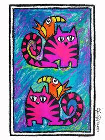 Katzen by Bärbel Stangenberg
