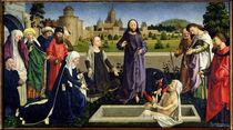 The Raising of Lazarus  von Master of Coetivy