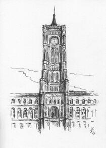 Rotes Rathaus, Berlin von Kai Rohde