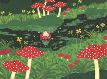 Lucky Pig in the River von Ayumi Yoshikawa
