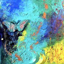 """Butterfly"" |2 MixedMedia | 3D Art  von Valentina Sullivan"