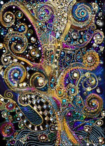 Night Seasons of Klimt by Alma  Lee