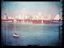 Vintage Miami Florida by Phil Perkins
