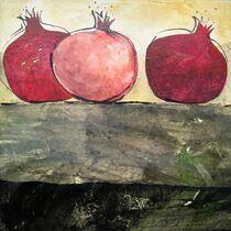 Granatäpfel II von Heike Jäschke